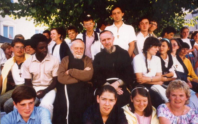 Camp de la Jeunesse Franciscaine à Altötting.