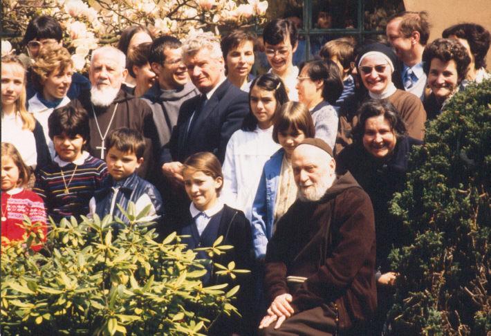Mgr MESMER et Roger LEHMANN