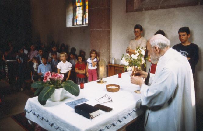 Rencontre des alouettes et troubadours de saint François à Notre-Dame de Mouterhouse