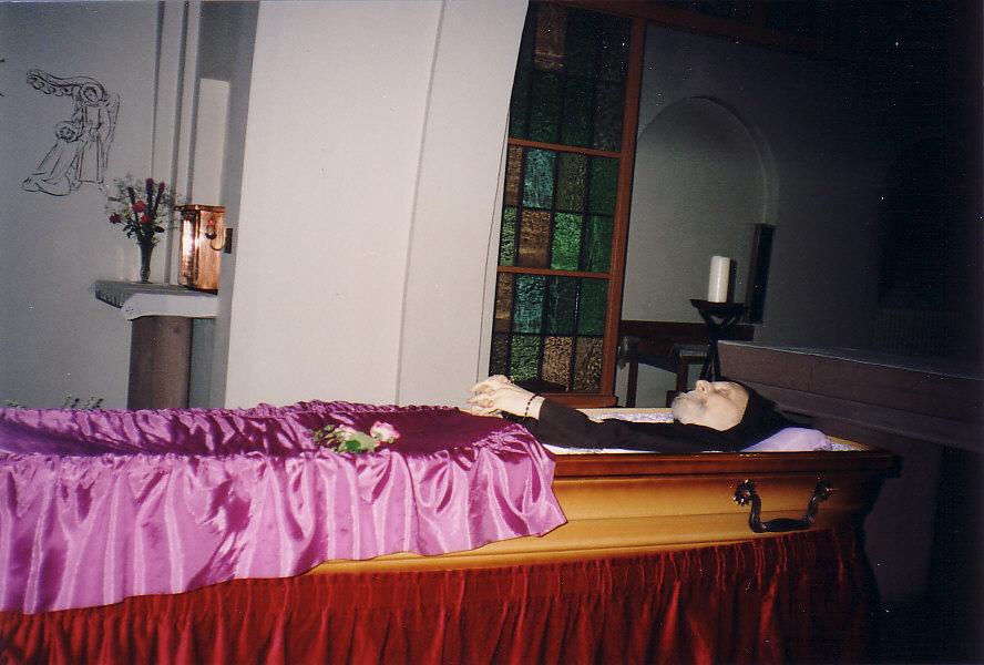 Dépouille du père Marie-Joseph