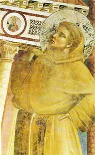 Saint François fresque